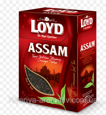 Чай черный Loyd Assam 80гр. (Польша)