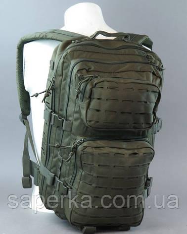 Рюкзак тактический военный  Mil-tec Laser Cut, Олива 36 литров , фото 2