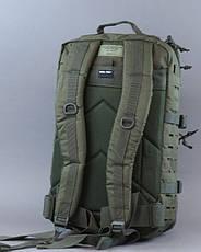 Рюкзак тактический военный  Mil-tec Laser Cut, Олива 36 литров , фото 3