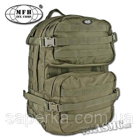 MFH Рюкзак штурмовой 40 литров, US Assault Pack III olive, фото 2