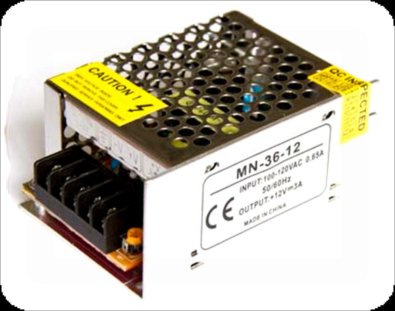 Блок питания 36W 3A для светодиодной ленты