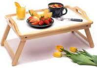 Столик для завтрака переносной