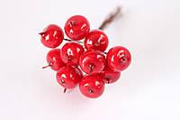 Декоративные яблочки 144 шт/уп. красного цвета маленькие оптом Полша