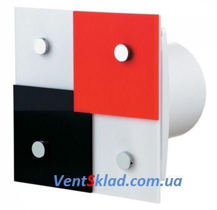Стильный дизайнерский вентилятор до 167 м3/час Вентс 125 Домино