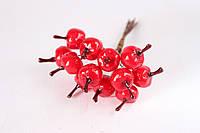 Декоративні яблучка 144шт/уп. червоного середні Польща оптом, фото 1