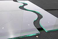 Криволинейная порезка стекла/зеркала