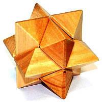 Головоломка деревянная Кристалл