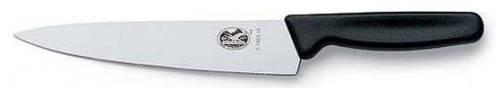 Отличный кухонный нож для нарезки мяса Victorinox 51903.19B черный