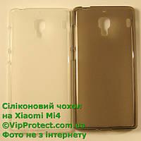 Xiaomi_Mi4, черный_силиконовый чехол