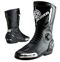 Мотоботы ( Мото ботинки)  Scoyco MBT004 Black