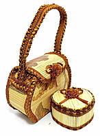 Сумочка со шкатулкой с тятивой для украшений AF51-3