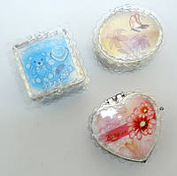 Пластмассовые шкатулки с зеркалом S-423