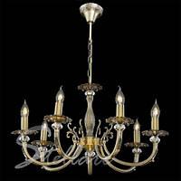 Люстра 7-ми ламповая, классическая 2226/7   бронза