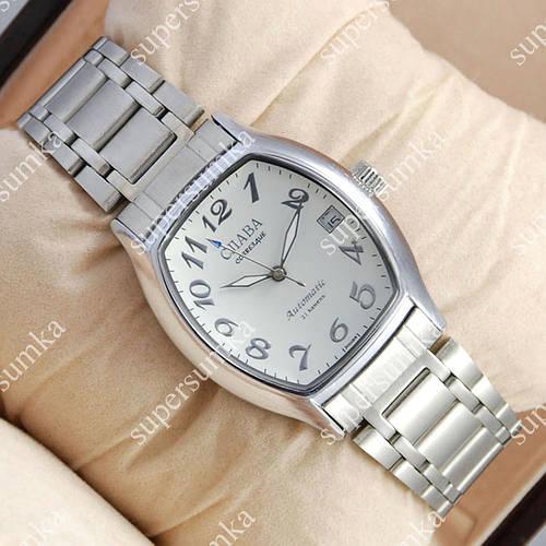 Практичные наручные часы Слава Созвездие Mechanic Silver/White 2619