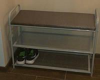 Полочка для обуви с мягкой сидушкой