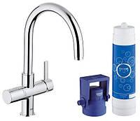 Смеситель для кухни на две воды Grohe Blue Pure 33249001