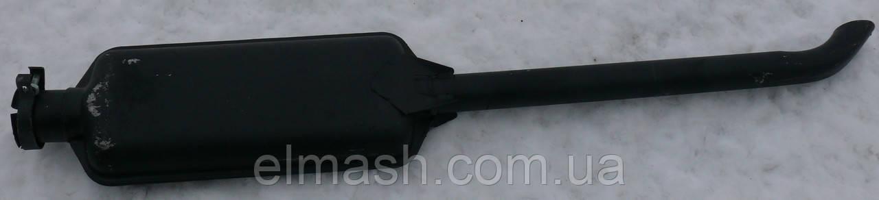 Глушитель МТЗ с двигателем Д245 черный (L=1370 мм) (пр-во TEMPEST)