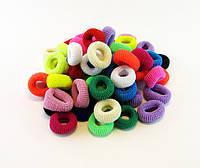 Резинка для волос цветная Калуш-100 шт.- Ø 1,5 см. * ширина 1,0 см.