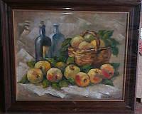 Интерьерное полотно маслом «Яблочный спас»