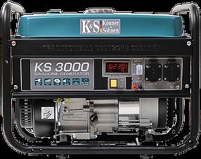 Генератор бензиновый Konner&Sohnen KS 3000 (3кВт)