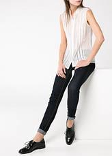 Блуза женская MANGO, размер XL шифоновая с кружевом, фото 2