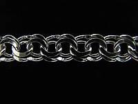 Серебряная цепочка ГАРИБАЛЬДИ (27-47 грамма)