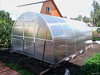 Изготовление теплицы из поликарбоната