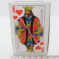 """Карты игральные """"Король"""" 54шт 16376 9810 уп10"""