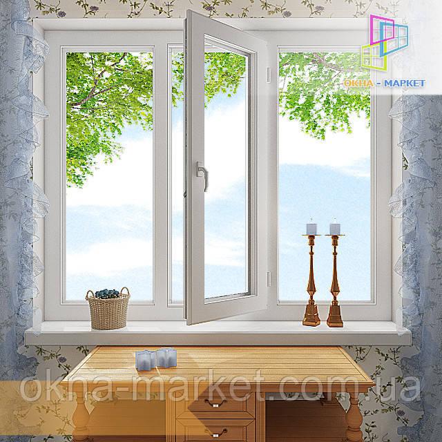 Цена на трехстворчатое окно
