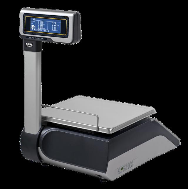 Весы с печатью чека DIBAL M-525