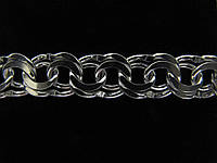 Серебряная цепочка ГАРИБАЛЬДИ (33-58 грамма)