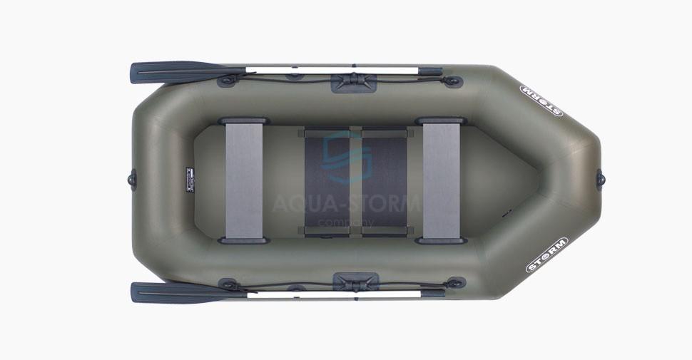 Лодка пвх надувная двухместная Storm ( шторм ) STO 250