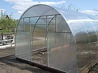 Производство теплиц из профильной трубы