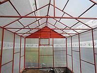 Сделать каркас для теплицы из поликарбоната