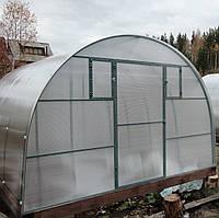 Дачная теплица со снимаемой крышей арочного типа