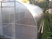 Алюминиевая теплица арочной формы