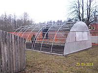 Изготовление дуг для теплиц по шаблону