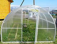 Проект прямостенную теплицу с арочной крышей