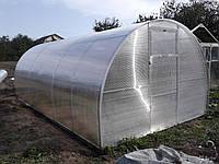 Производство теплиц из поликарбоната оцинкованн
