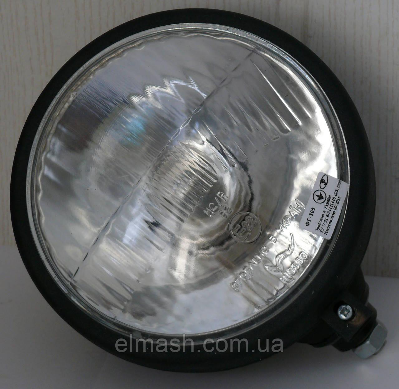 Фара МТЗ,ЮМЗ передняя с лампой в металлическом корпусе (пр-во Украина)