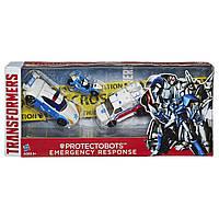 Transformers Asia Kids Набор из трех защитников-трансформеров Protectobots Emergency Response