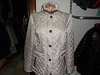 Куртка стеганнаяDiдvi размеры  50 молочная