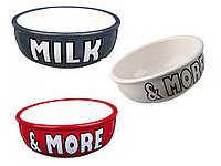 Trixie (Трикси) Milk & More Керамическая миска для котов 400 мл