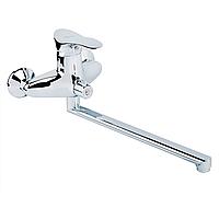 ERIS QT 005 new смеситель для ванны, с длинным изливом (к 40) (Q-Tap - Китай)