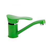 ERIS Q-TAP (GREEN COL) 002М смеситель для кухни, елочка (к 40) (Q-Tap - Китай)