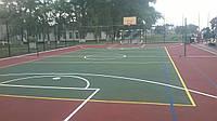 Строительство и проектирвание баскетбольной площадки под ключ