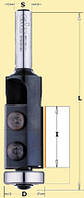 Фреза СМТ обгонная со сменными ножами D19-I12-L56-z2-d6, фото 1
