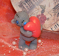 Мыло Тедди с сердцем 2