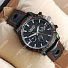 Модные наручные часы Слава Созвездие Mechanic Black/Black 2646
