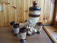 Рог для вина керамический литой